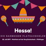 7. Weinfest auf der Burg Bucherbach 2017